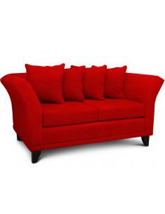 Sillon 2 cuerpos Oxford Lino Color Rojo - Monaco