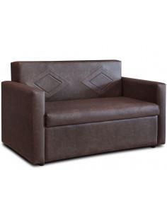 Divan sofá cama Ian 2 cuerpo Ecocuero