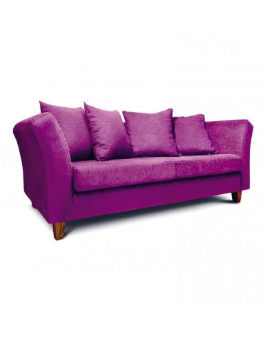 foto: barcelona 3 cuerpos chenille violeta