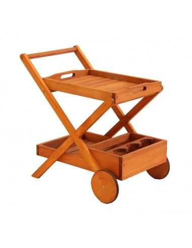 Carro Bar madera