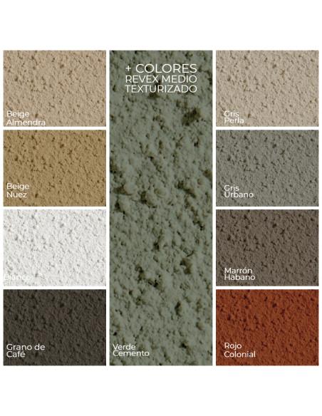 Colores Revex Medio Texturizado