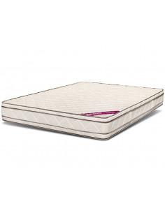 Colchón espuma alta densidad 2 plazas 140x190 Doble euro pillow