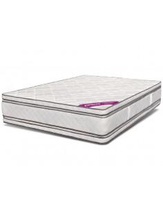 Colchón resorte 2 plazas 140x190 Doble Pillow