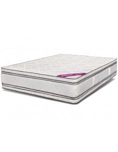 Colchón espuma alta densidad 2 plazas 140x190 doble pillow