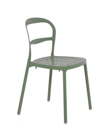 Silla Alumia Verde