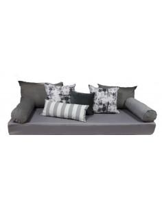 Set de 9 piezas para transformar tu cama en sillón