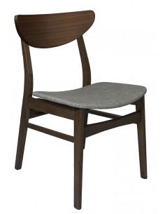 silla loick tapizada espresso /sesame
