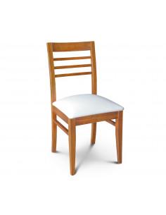 Silla Konci asiento tapizado ecocuero
