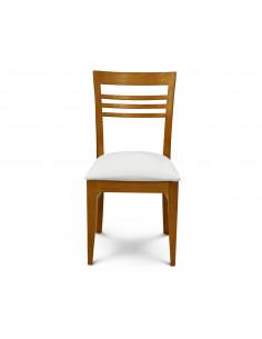 Silla Murano asiento tapizado ecocuero